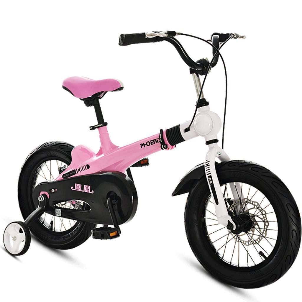 子供の自転車ガールズ自転車2-12歳のベビーベビーカー14/16インチキッズマウンテンバイク (色 : C, サイズ さいず : 16 inches) B07D4FK61Y 16 inches|C C 16 inches