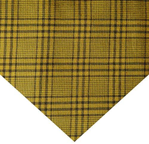 Plaid Fabric Glen (Henry Glass Pumpkin Farm Yarn Dye Monotone Glen Plaid Olive Fabric by The Yard)