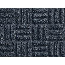 Andersen 265 Waterhog Masterpiece Select Polypropylene Fiber Entrance Indoor Floor Mat, SBR Rubber Backing, 5-Feet Length X 3-Feet Width, 3/8-Inch Thick, Ocean Wave