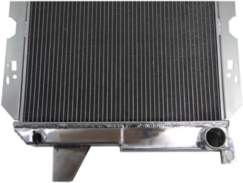 """NEW KKS ALUMINUM RADIATOR SHROUD W// 2x12/"""" FAN FIT 85-96 Ford F-150 F-250 PICKUP"""