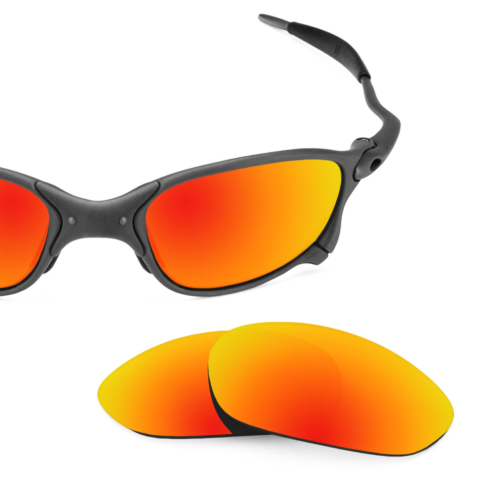 Revant Polarized Replacement Lenses for Oakley X Metal XX Fire Red MirrorShield