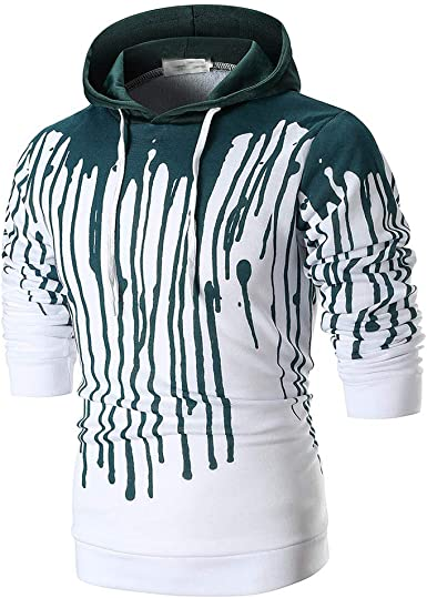 Men Sweatshirt Tartan Paid Set Backdrop 3D Digital Printing Funny Hoodie Pullover with Pockets