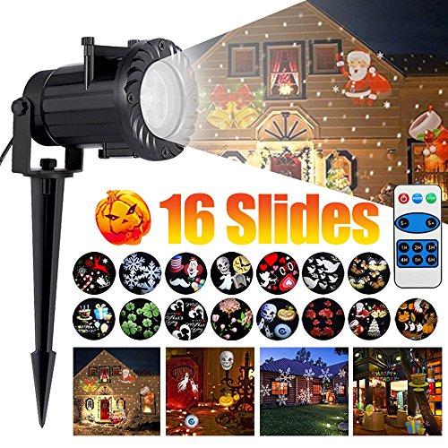 Outdoor Lighted Plastic Santa Claus - 9