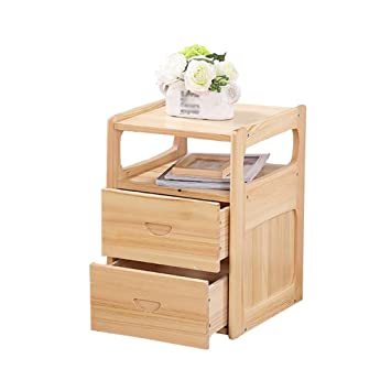Amazon.com: LIGHT YEARS Solid Wood Bedside Cabinet ...