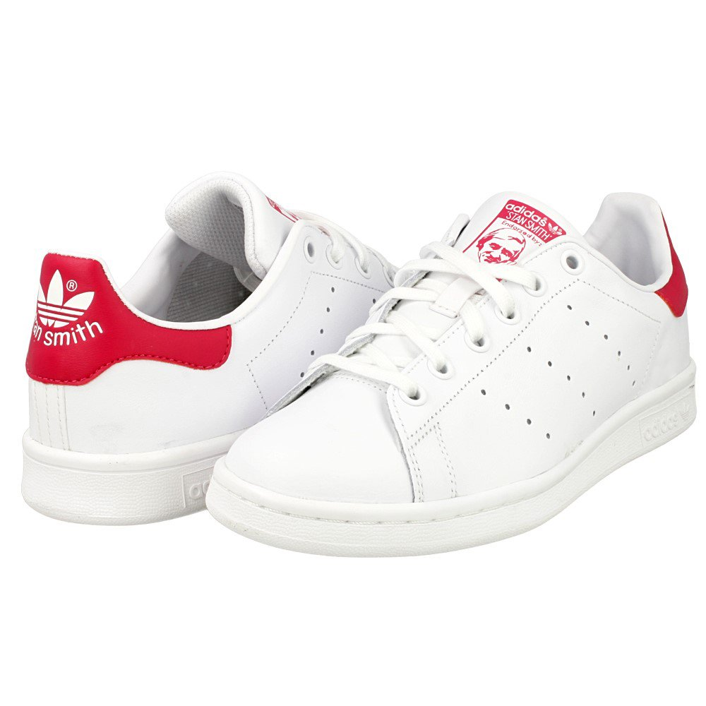 the best attitude c3dd5 995b0 adidas Originals Stan Smith J, Scarpe da Basket Unisex – Bambini product  image