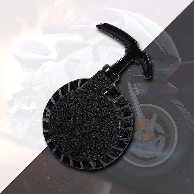 Duokon Zugstarter Starter Für Rückfahrstarter Aluminium Anlasser Leicht Zu Ziehen Für 49 Cc Mini Pocket Dirt Bike Mini Motorrad Quad Atv Auto