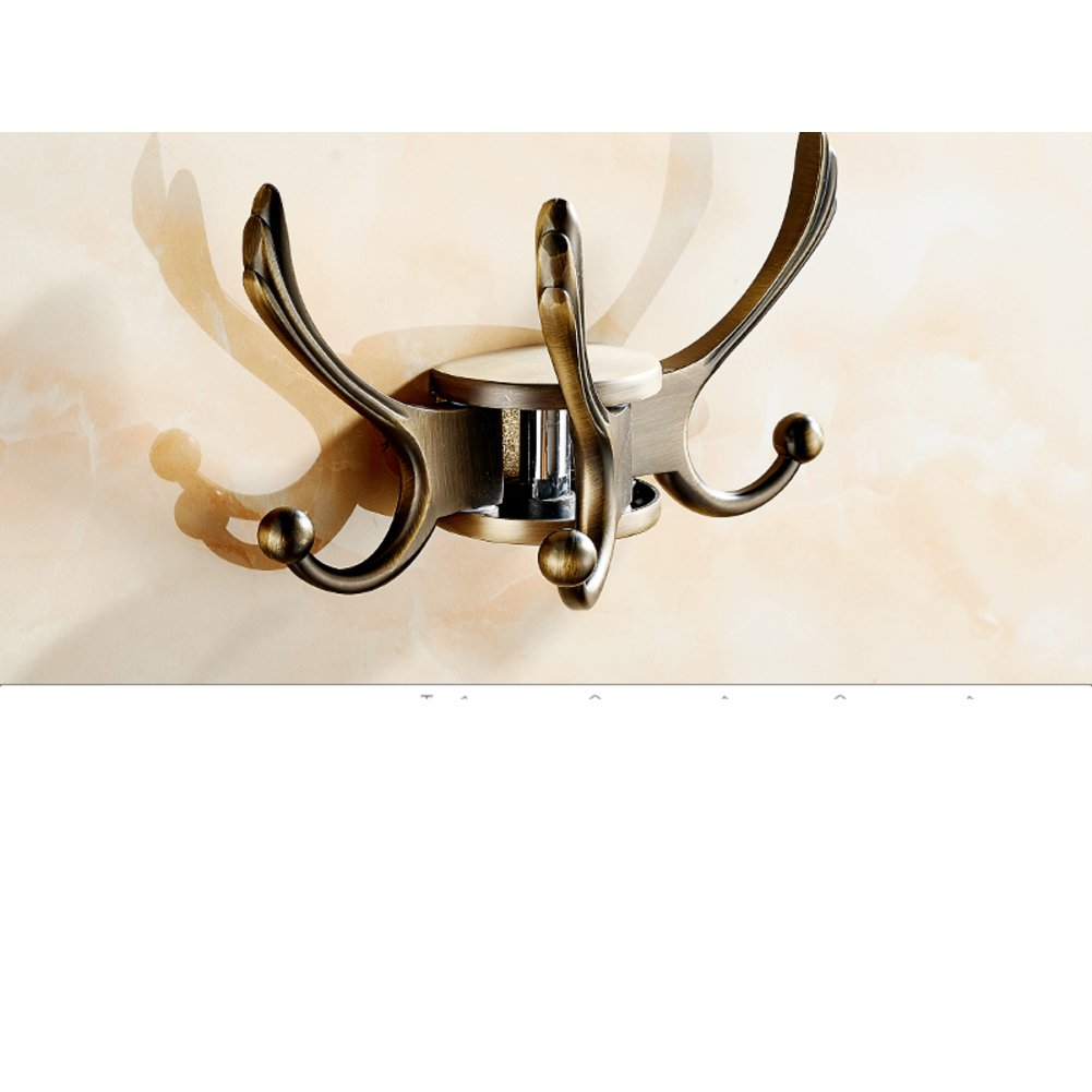 Multipurpose activity linked to the rotation/ Antique clothes Hook/coat and hat hook / continental hook/ Towel hook-B 30%OFF