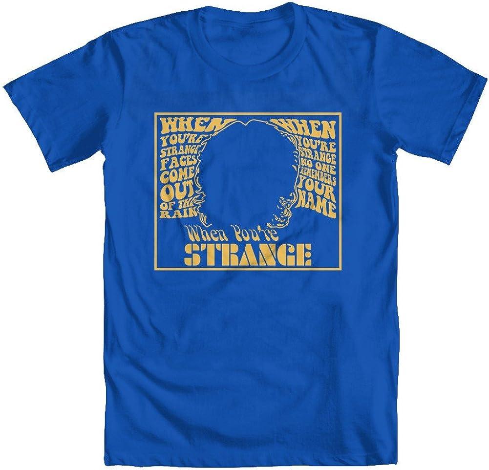 GEEK TEEZ When Youre Strange Youth Girls T-Shirt