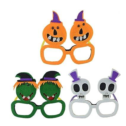 Amosfun 3 UNIDS Novedad Fiesta de Halloween Gafas de Sol de ...