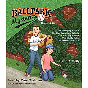 Ballpark Mysteries Collection: Books 6-10 Audiobook