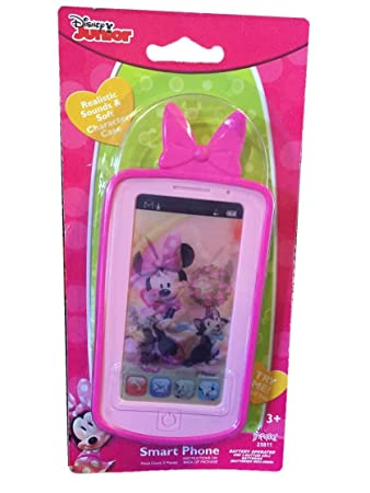 Disney Minnie Mouse Hot Pink Smart Phone with Realistic Sounds Imperial