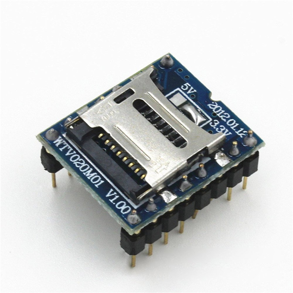 Lysignal WTV020-SD Voice Module SD Card Sound Module for Game MP3 Audio by Lysignal (Image #1)