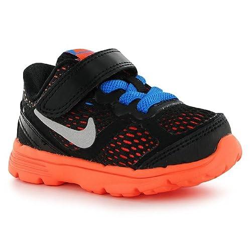 29c63b7374f Nike Dual Fusion Run 3 Athletic Shoe Cool Grey Wolf Grey Photo Blue Hyper  Crimson 5 Toddler M  Amazon.in  Shoes   Handbags