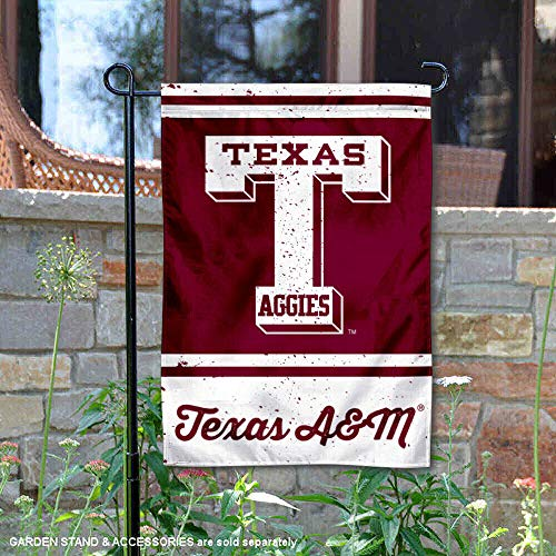 Wincraft Texas A&M Aggies Vintage Retro Throwback Garden Flag