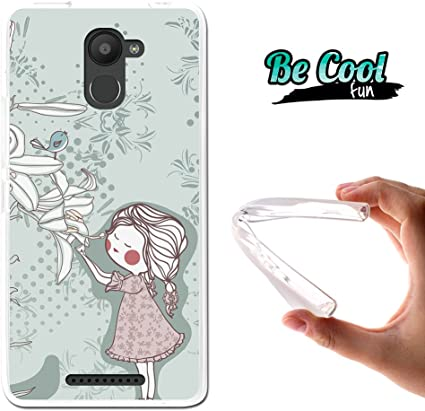 BeCool® Fun - Funda Gel Flexible para Bq Aquaris U Plus, Carcasa ...