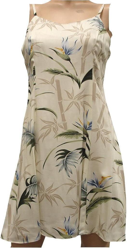 Hawaiian Clothing Womens Hawaiian Dress Aloha Dress Bamboo Paradise Dress