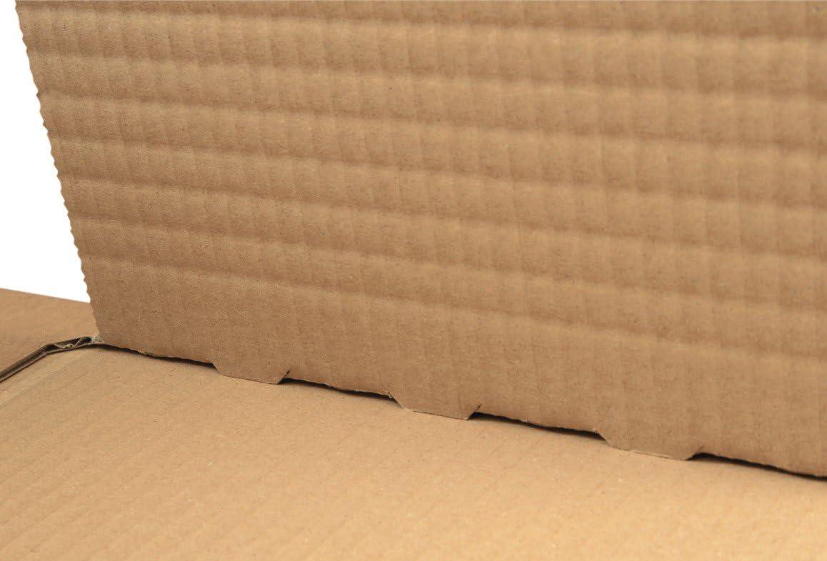 70 mm progressPACK Premium PP B05.01 20 pezzi formato C5 in doppio cartone ondulato Scatola universale per spedizioni colore: marrone 230 x 165 max