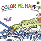 2016 Color Me Happy Mini Calendar