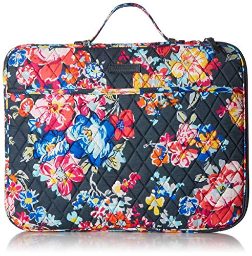 Vera Bradley Laptop Organizer, Signature Cotton, Pretty Posies