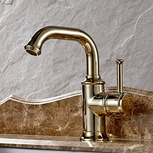 Polished Brass Basin Faucet - 7