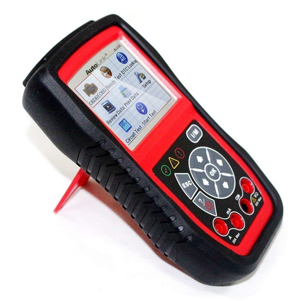Autel Autolink/® AL539b Herramienta de prueba componentes el/éctricos y bater/ía OBDII//CAN con lectura//borrado de c/ódigos de error
