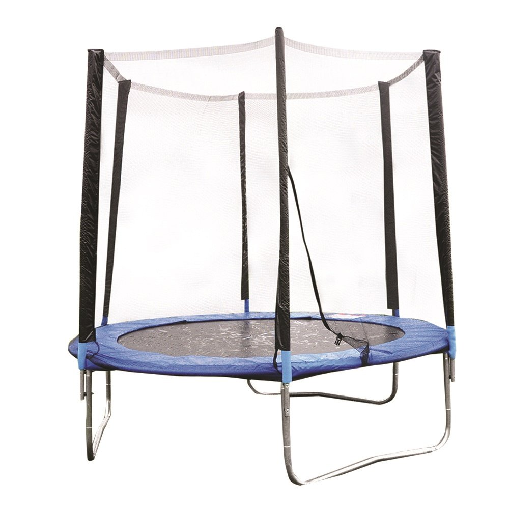8Ft Outdoor Garden Childrens Bouncy Trampoline & Safety Net Enclosure Betterware TRAM8