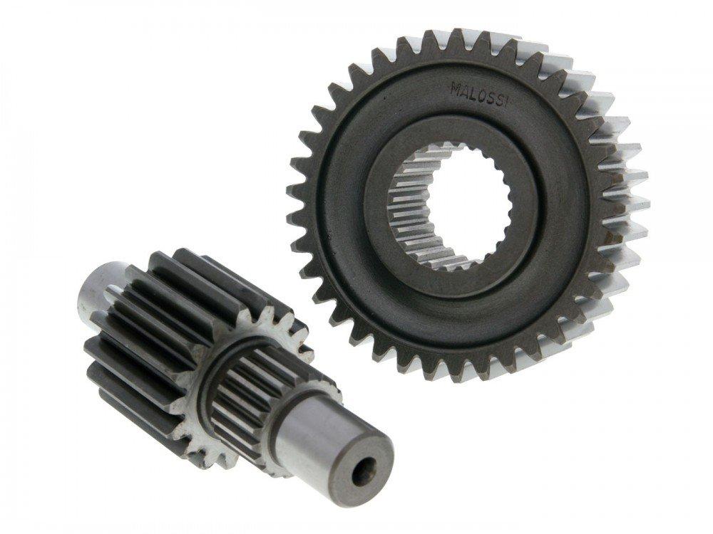MBK Getriebe sekund/är Malossi HTQ 17//37 f/ür Aprilia Benelli Italjet Yamaha
