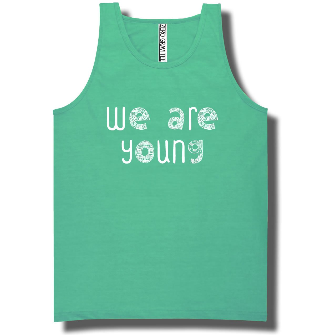 YOUTH We Are Young Pigment Dyed Ringspun Tank Tops in 12 colors