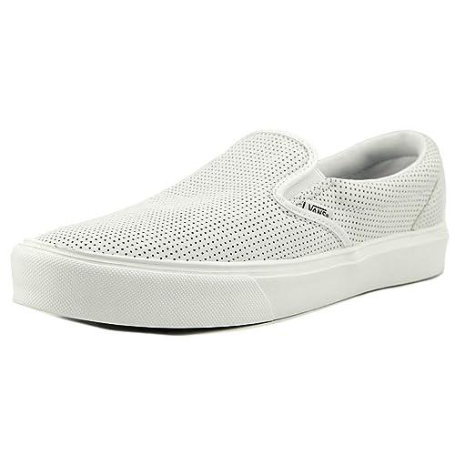 60a4e02090 Vans Slip On Lite Perf White White Sneakers (Size 11 Men s)  Amazon.ca   Shoes   Handbags