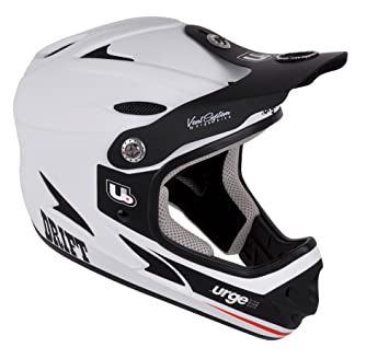 Urge Drift - Casco integral, Blanco, M (57- 58 cm)