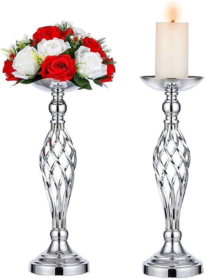 Sziqiqi Soporte Decorativo De Flores para Recepción De Bodas ...