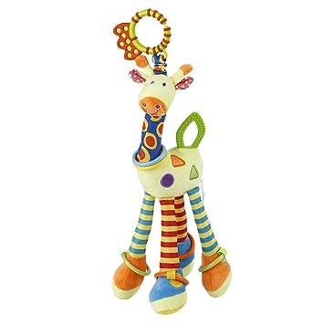ocday bebé juguete para cochecito de bebé cuna sonajero juguetes jirafa, éducatifs de peluche juguetes para colgar: Amazon.es: Juguetes y juegos