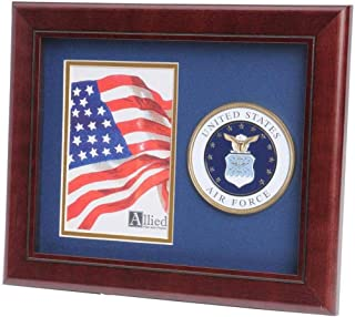 product image for flag connections US Air Force Medallion Portrait Picture Frame - 4 x 6 Picture Opening