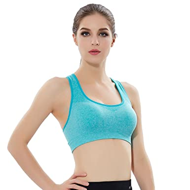 cbf22edcdb Image Unavailable. Image not available for. Colour  Calops Sports Bra High  Impact Sport bra Suit Only For Thin Women-Support ...