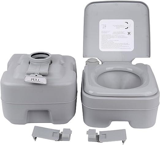 MuGuang Camping WC 20 l Deluxe Travel Portable WC para Autocaravana Caravan