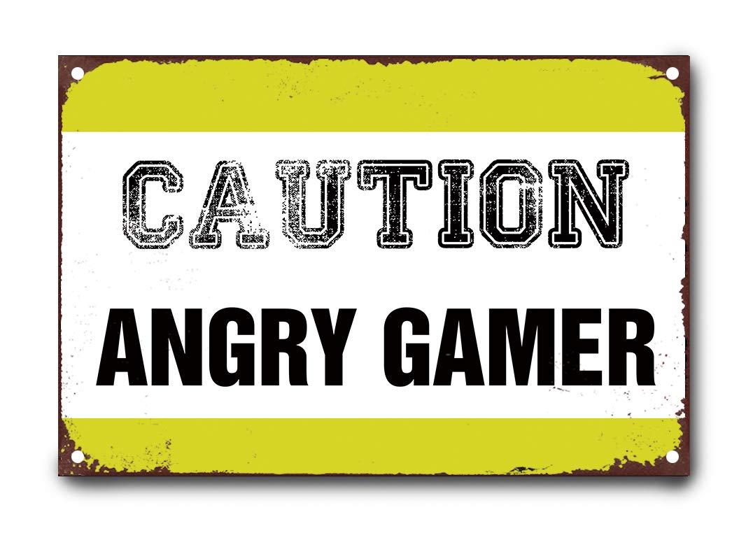 happygoluck1y - Cartel de Metal con Texto en inglés Caution ...