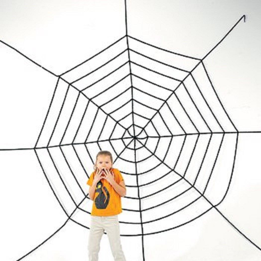 amazoncom jumbo 11ft plus halloween creepy spider web toys games - Spider Web Halloween