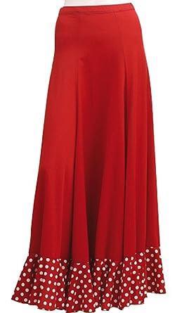 Castanuelas Jupe Flamenco Rumba  Amazon.fr  Vêtements et accessoires 442f9d52cb8