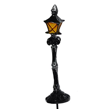 Amazoncom Miniature Fairy Garden Lamp Post Home Kitchen