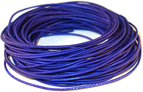 10 Meters cords craft 1.0mm Round Leather Cord Leather String Metallic Color Jewelry /& Craft Making Bracelet Necklace Beading 10.93 Yards