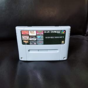 Super 100 in 1 Japan Case NTSC With Game Castlevania Dracula X Captain Commando Contra III Final Fight 3 Turles IV Megaman X 7