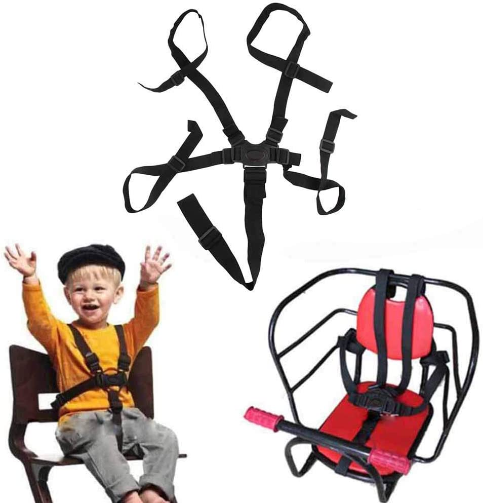 Correa de seguridad ajustable universal para beb/és Infant 5 puntos Arn/és de seguridad Cintur/ón para ni/ños Ni/ño Cochecito Silla alta Cochecito de ni/ño