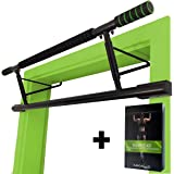 "MAGNOOS Pull-Up Bar ""Matador"" | Premium Chin-Up Bar Door Frame No Screws | Indoor Doorway Fitness at Home | Up to 130kg"