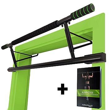 MAGNOOS Matador   Pull Up Bar Door Frame No Screws   Premium Doorway Chin