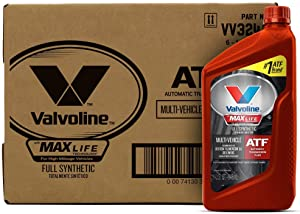 Valvoline Multi-Vehicle (ATF) Full Synthetic Automatic Transmission Fluid 1 QT, Case of 6