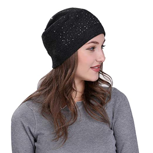 Hunputa Womens Hat Winter b902b58f7c7