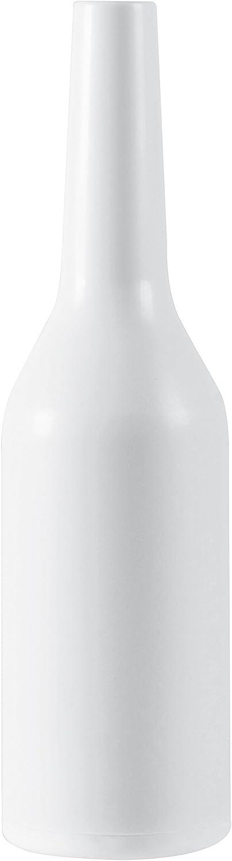 PADERNO Botella Flair para Barman para Entrenar los Movimiento Acrobáticos de la Preparación de Cócteles, Blanca, Capacidad: 0,75 L