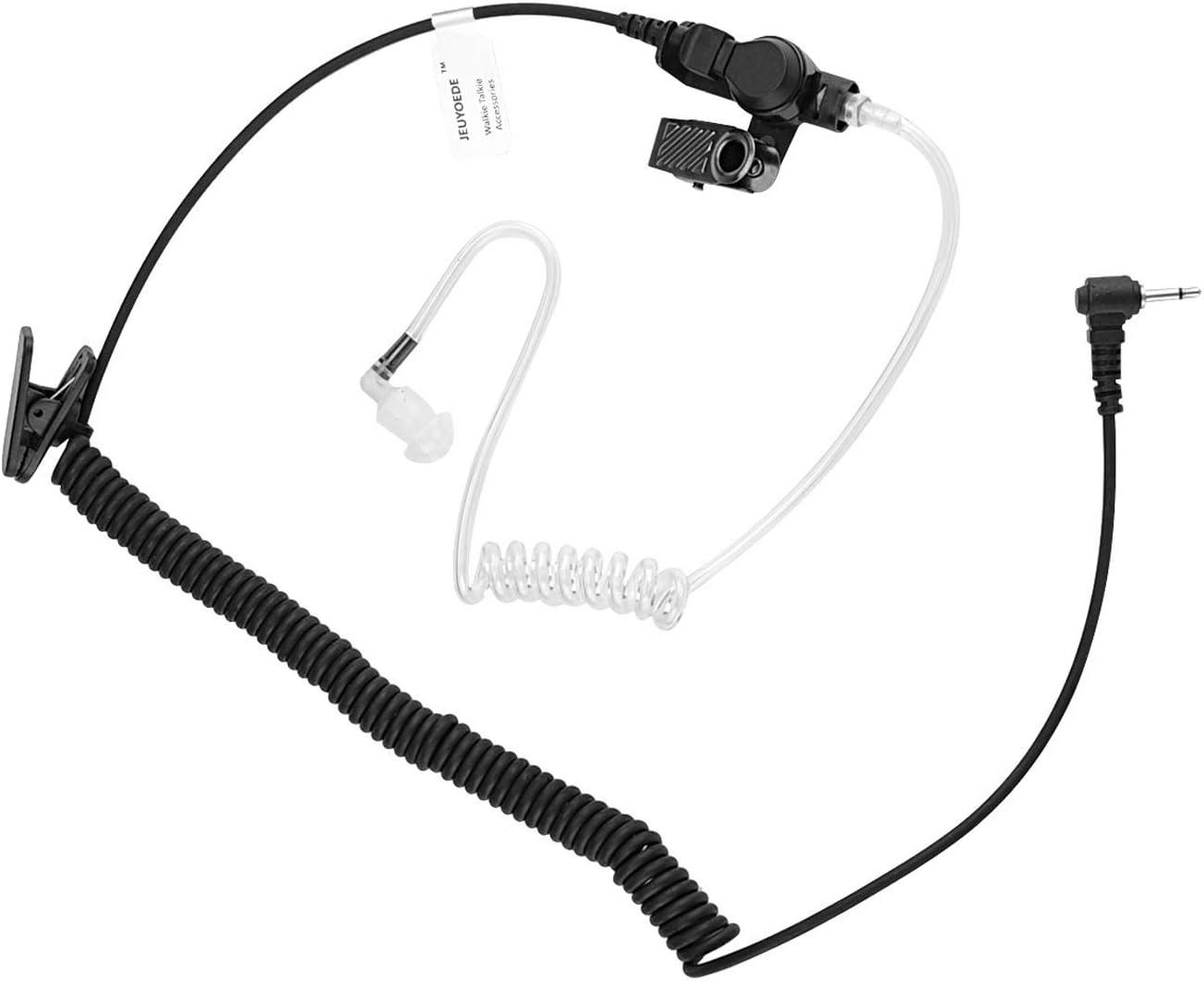 Universal 3.5mm Listen-Only Acoustic Headset//Earpiece For Radio Walkie Talkie