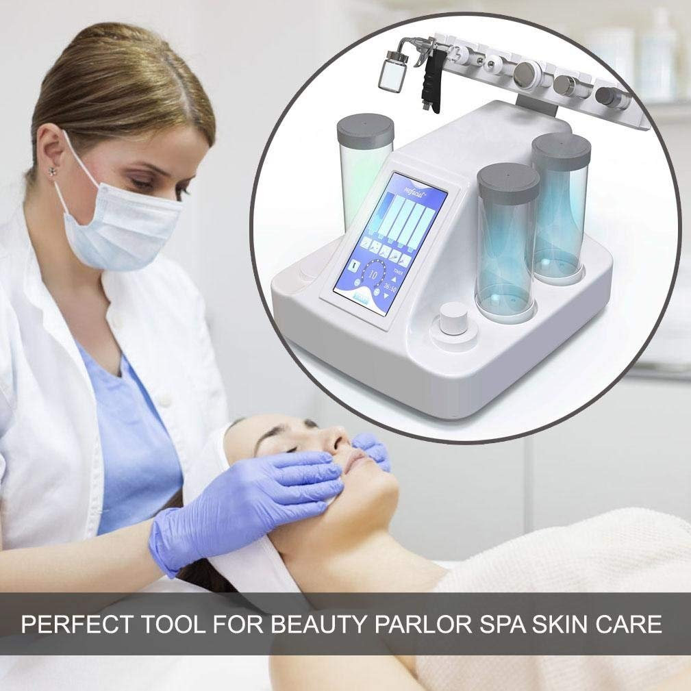 6 in 1 Vacuum Suction Blackhead Acne Removal Water Hydro-dermabrasion Facial Sprayer Moisturing Rejuvenation Skin Machine by Semme (Image #2)