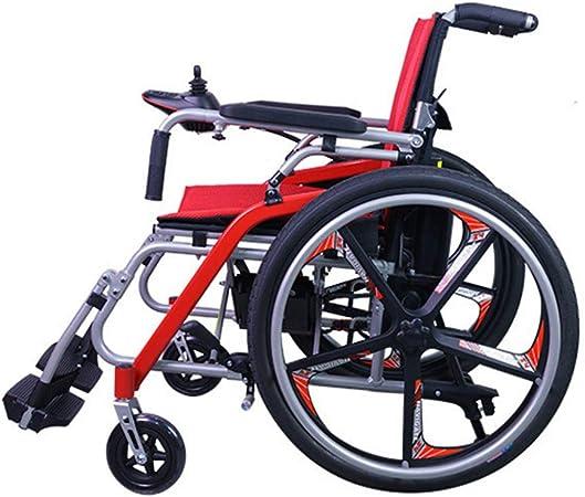 Silla De Ruedas Eléctrica Plegable Ligera, Bicicleta Eléctrica De Cuatro Ruedas Para Discapacitados: Amazon.es: Salud y cuidado personal